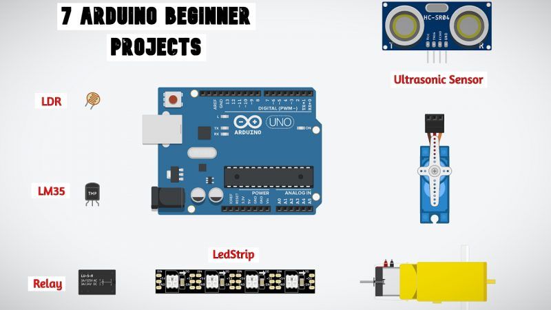 7 Great Arduino Project for Beginners