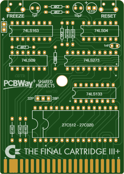 Sample PCB from PCBWAY