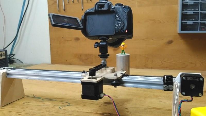 Camera Slider using Arduino