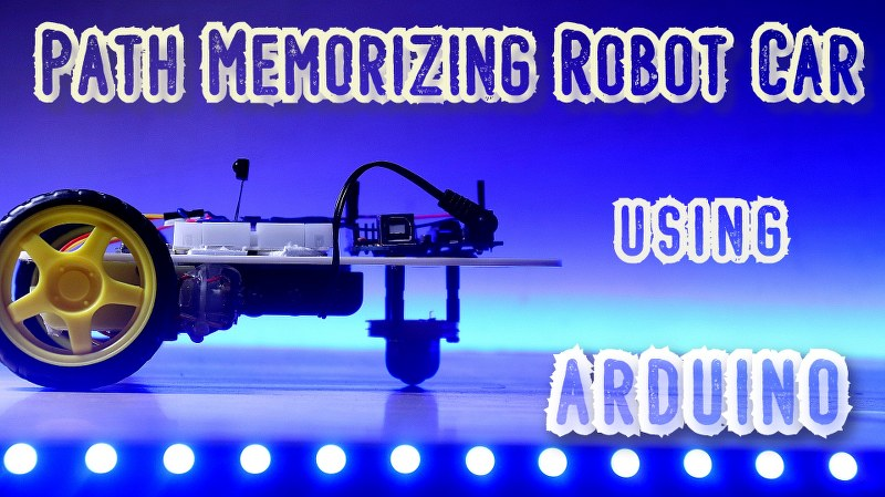 Path Memorizing Robot using Arduino