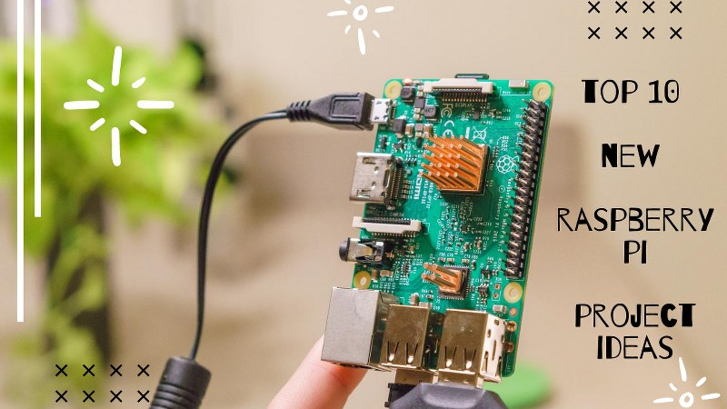 TOP 10 NEW RASPBERRY PI PROJECT IDEAS