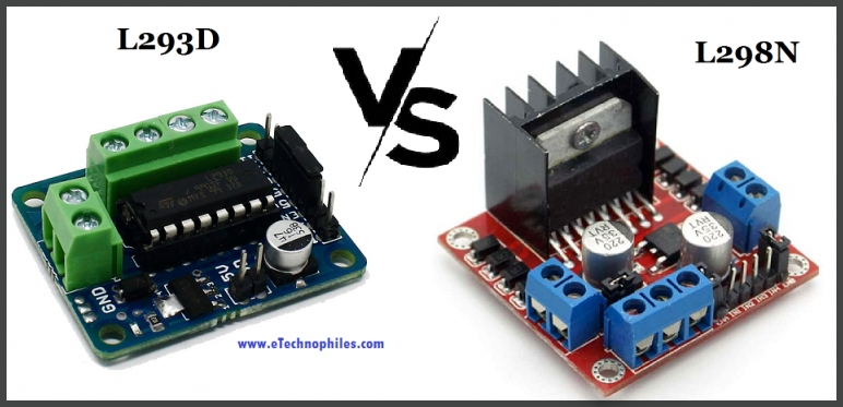 L293D vs L298N differences