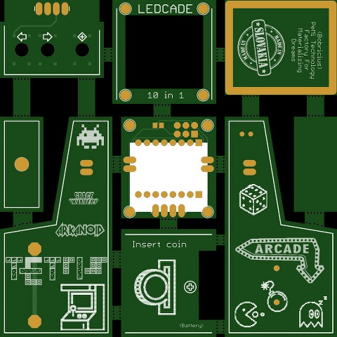 LEDCADE PCB designed in software
