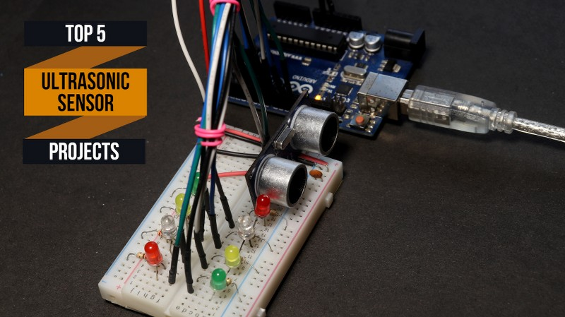 Top 5 Arduino Ultrasonic Sensor projects in 2021