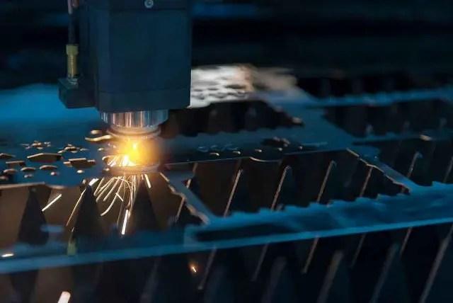 Metal sheet cutting