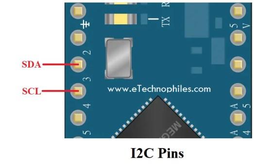 I2C Pins on Arduino Micro