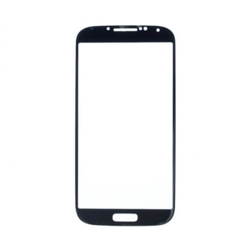 Glass only for use with Samsung Galaxy S4 Black Mist (No