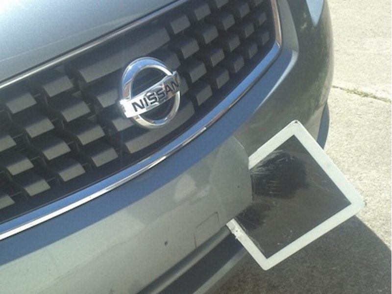 Nissan VS iPad