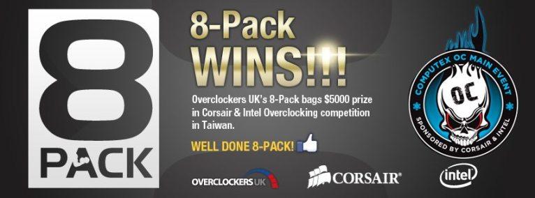 8pack_Wins_corsair_intel_Overclockers_UK