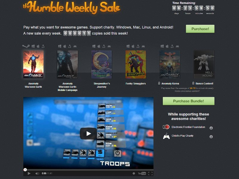 Humble Weekly Sale 11 Bit Studios