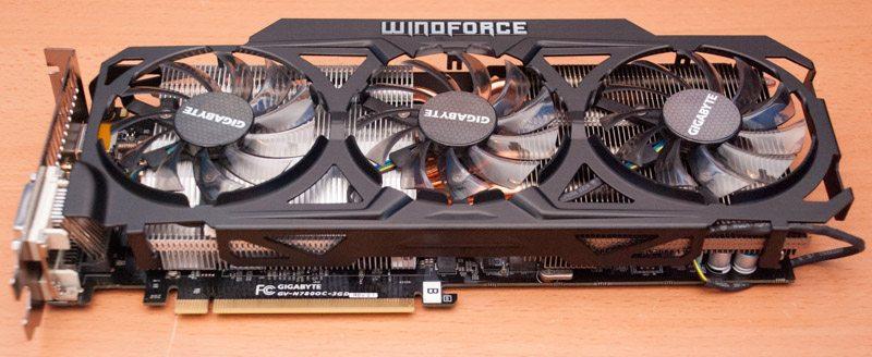 Gigabyte GTX 780 WindForce OC Rev 20 Graphics Card