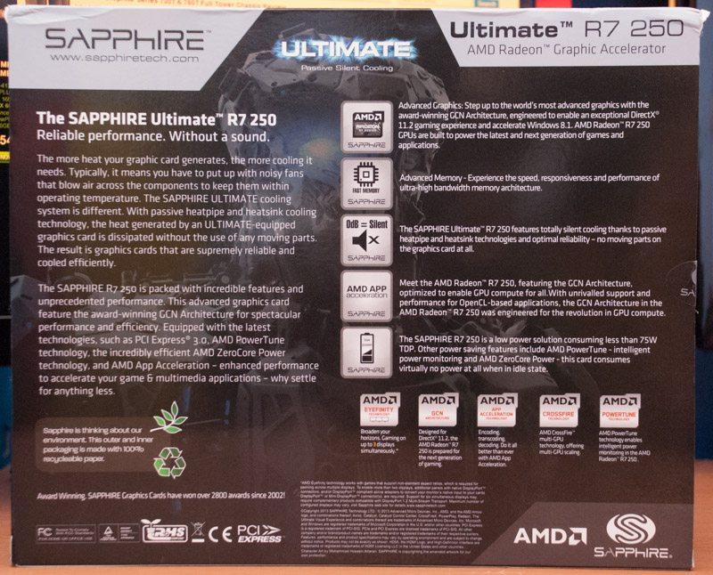 Sapphire R7 250 Ultimate (2)