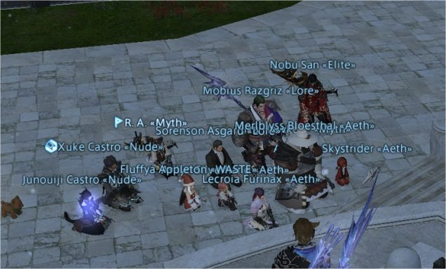 Final Fantasy XIV Gamers Stage Vigil For Dying Player