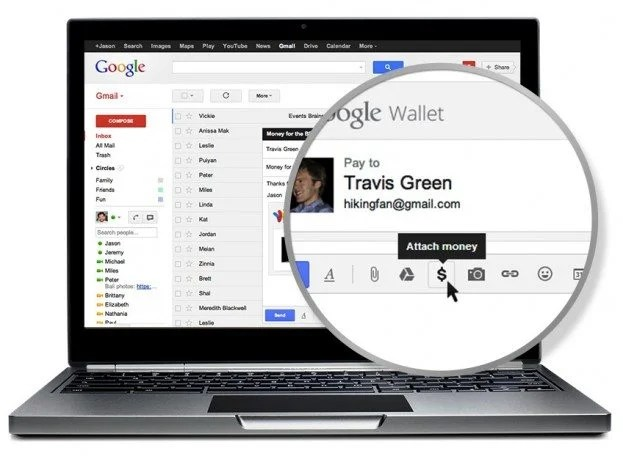 gmail money