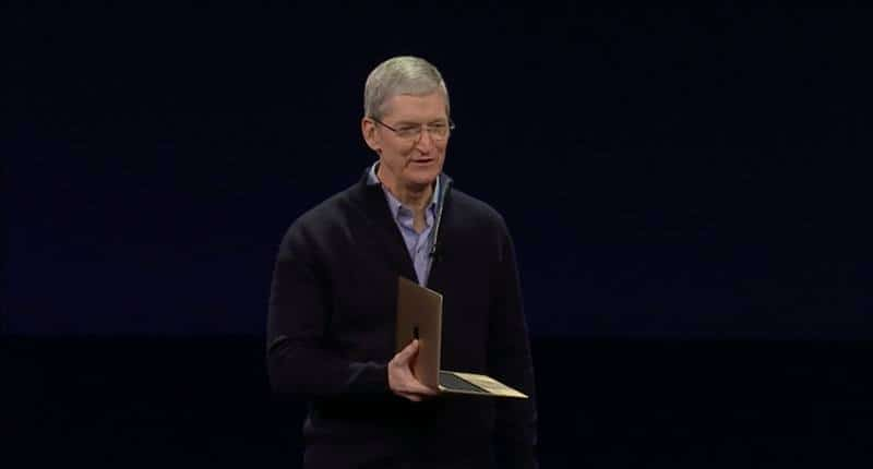 New Gold Macbook 1