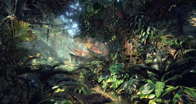 Unreal-Engine-4-Quixel's-Jungle-Environment-2