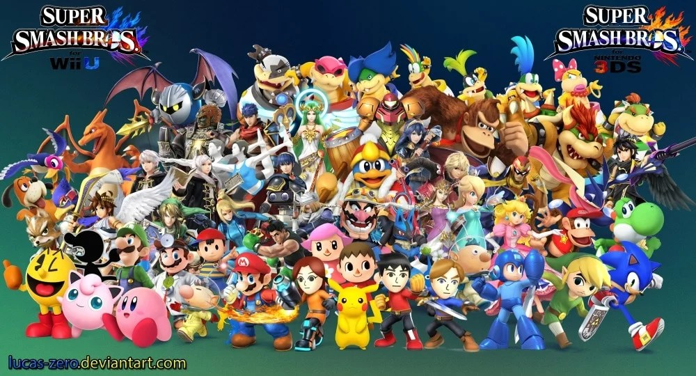 super_smash_bros_4_wallpaper_by_lucas_zero-d7m4z5k