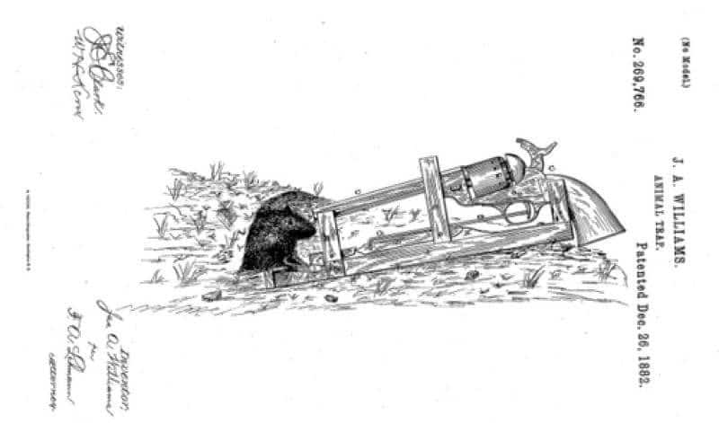 1882 Patent Gives a Whole New Meaning to the Word Overkill