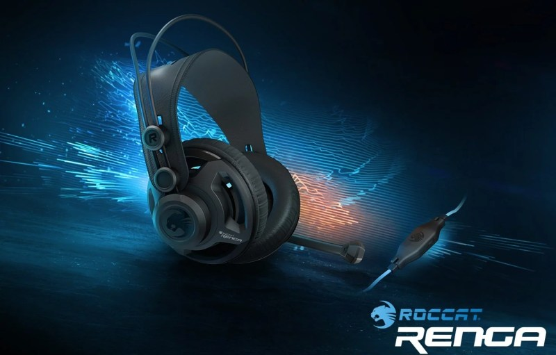 c06715dc151 Roccat is one of the most popular gaming brands on the market, so we're  very happy to see their latest headset, the Renga, in the eTeknix office  today.