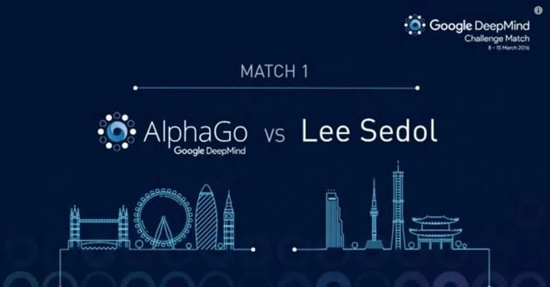 Google DeepMind AlphaGo Lee Sedol Go AI