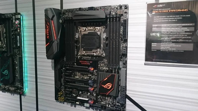 ASUS Flexes Stunning New Motherboards at Computex