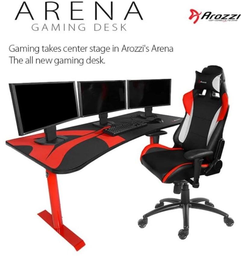 Arozzi Reveal Arena Gaming Desk Eteknix