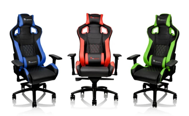Thermaltake Releases Four New Tt Esports Gaming Chairs
