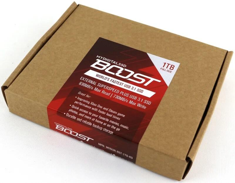 MyDigitalSSD Boost photo-box