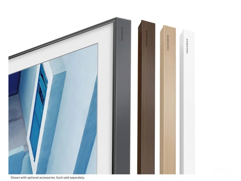 "Samsung's ""The Frame"" Wall"