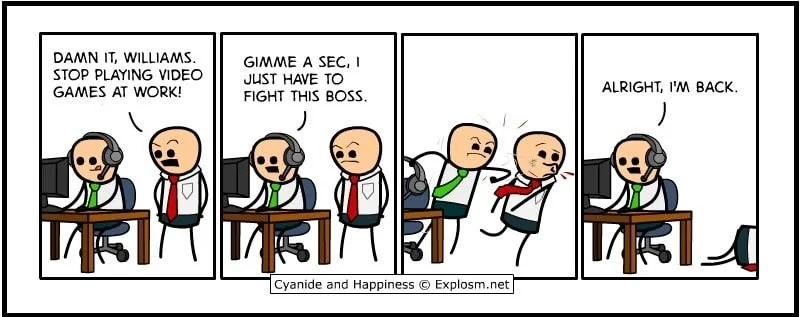 cyanide happiness adventure game
