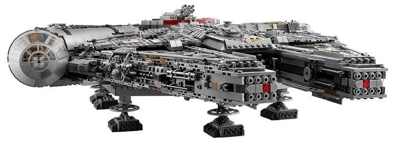 Lego Star Wars Ultimate Millennium Falcon Kit With Over 7500