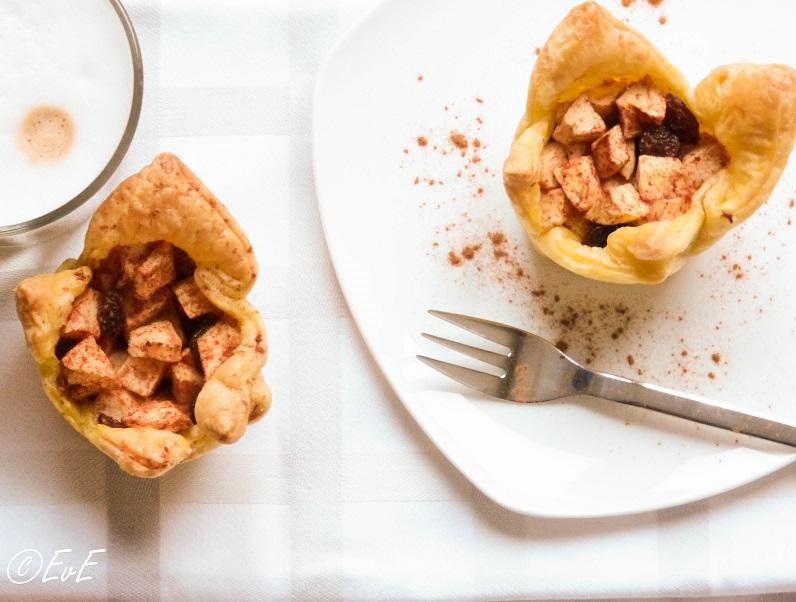 recept bladerdeeg appel rozijnen