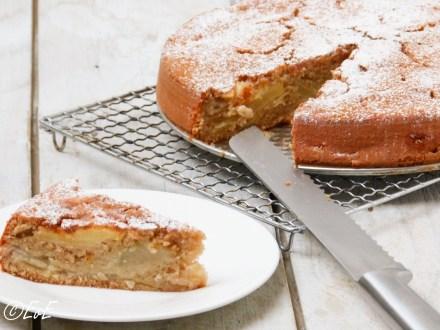 ronde appelcake met kaneel en citroen lactosevrij