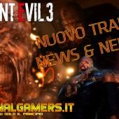 RESIDENT EVIL 3 REMAKE – NUOVO TRAILER – NEMESIS REVEAL REALE & NEWS