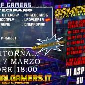 Domani Domenica 7 Marzo intorno le 18:00 circa ci sarà il 6° appuntamento della Live Talk: Hall Of Gamers!