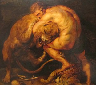 Rubens Hercules Nemean Lion Peloponnese Greece