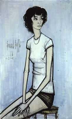 Annabel, par Bernard Buffet
