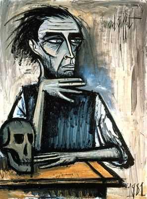 Autoportrait (I), par Bernard Buffet