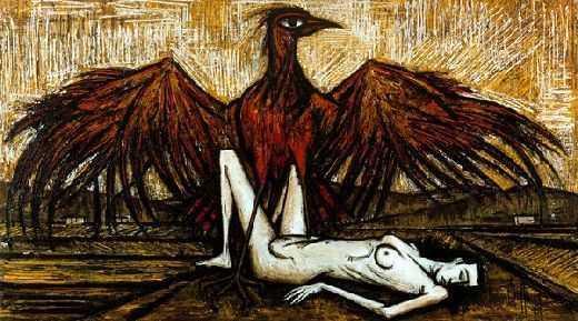 L'aigle, par Bernard Buffet