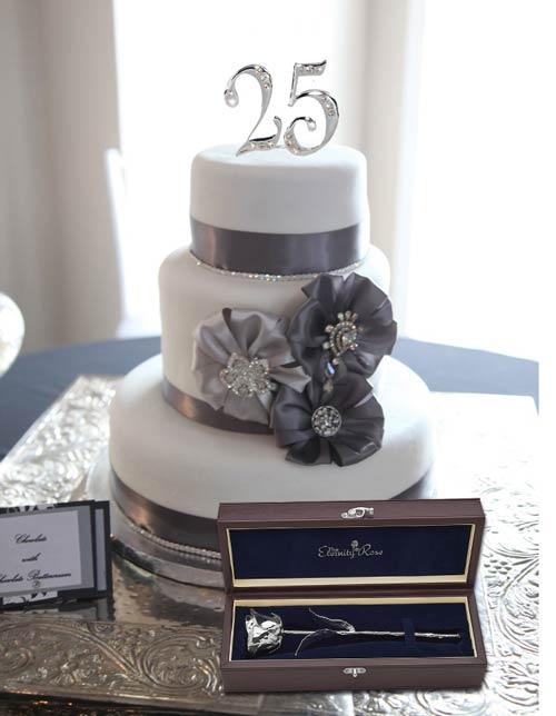 unique 25th wedding anniversary