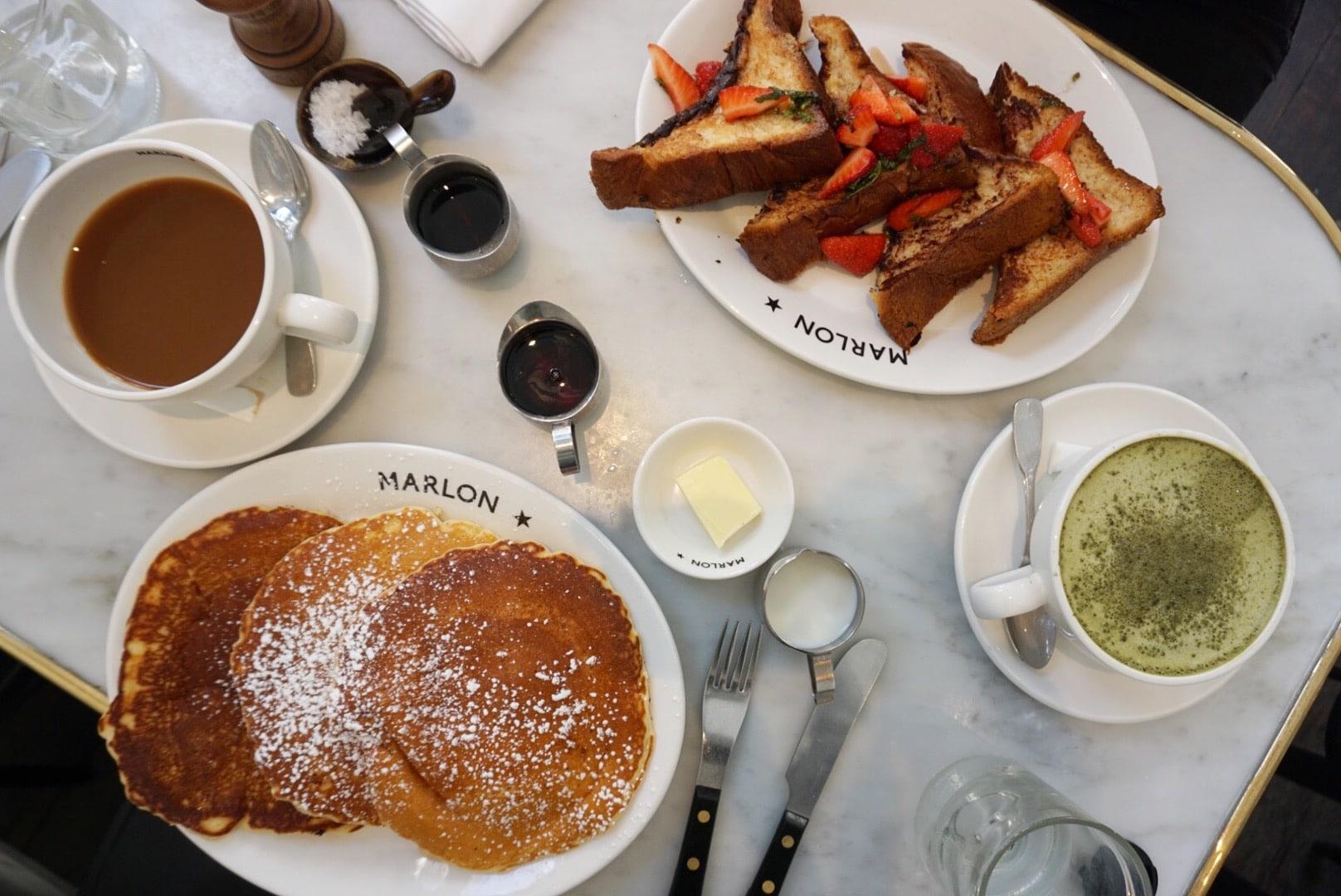 Paris Brunch: Marlon Restaurant