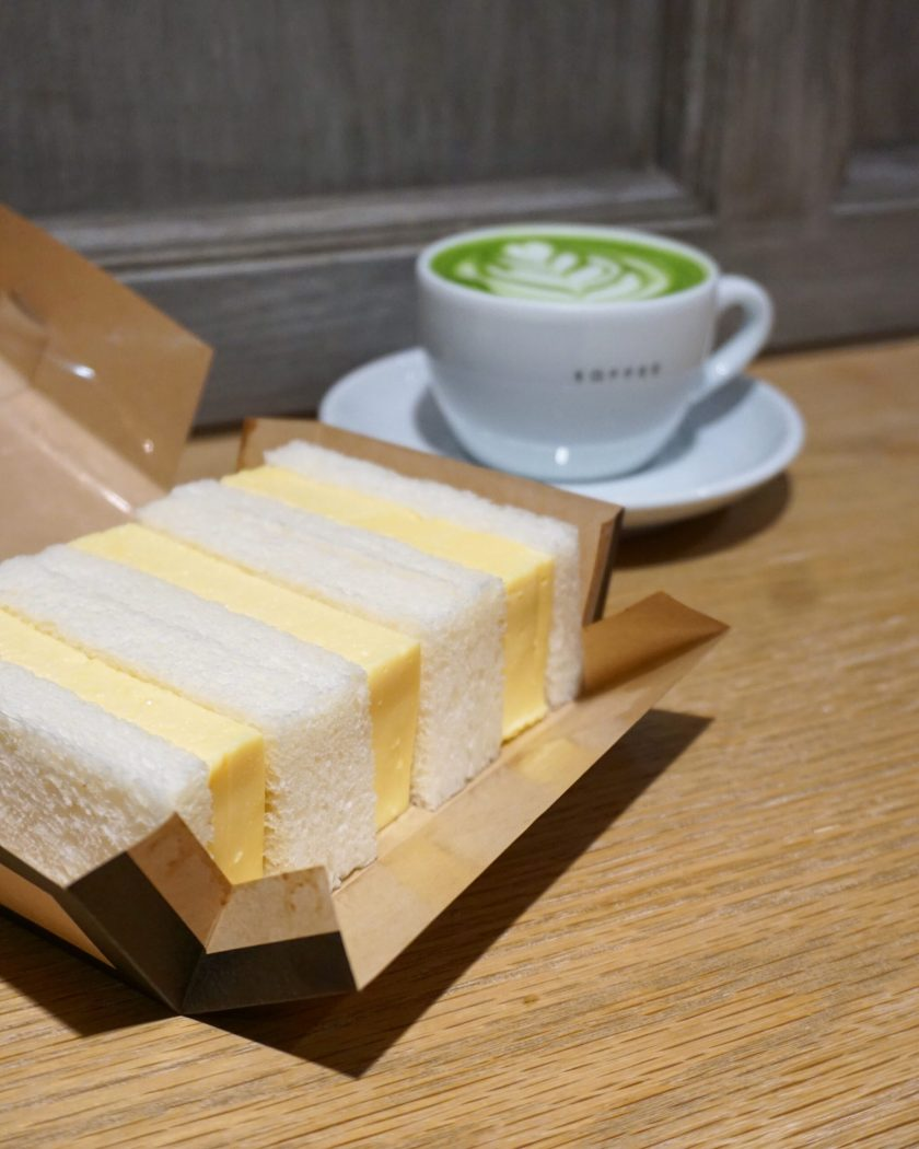 Egg Sandwich at Omotesando Koffee Hong Kong