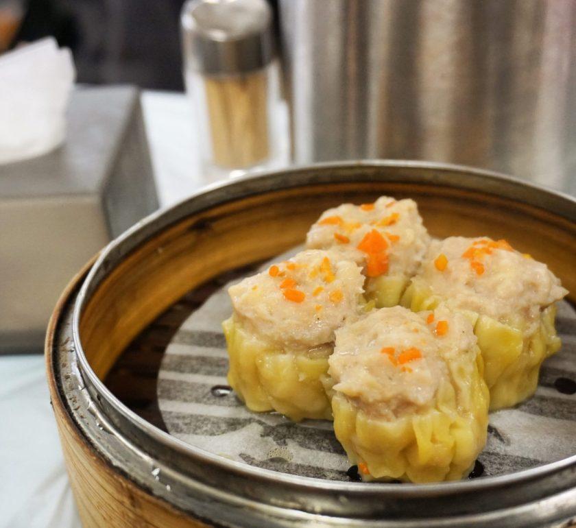 Siu Mai Dumplings at Islamic Centre Canteen Hong Kong