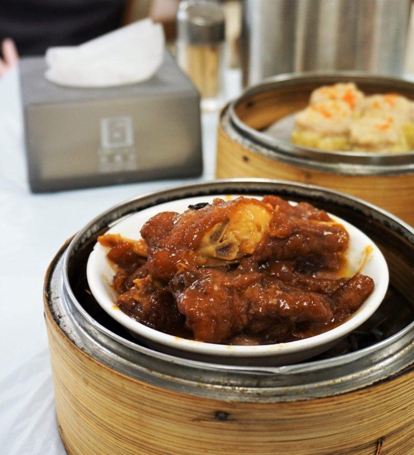 Chicken Feet Dim Sum at Islamic Centre Canteen Hong Kong