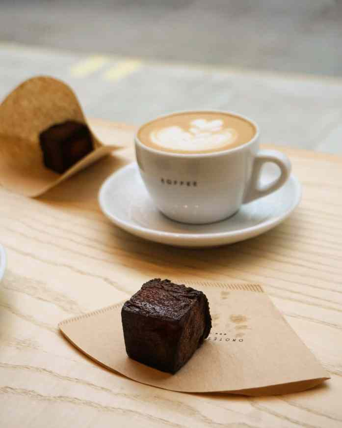 Image of Omotesando Koffee signature Kashi custard cube pastry