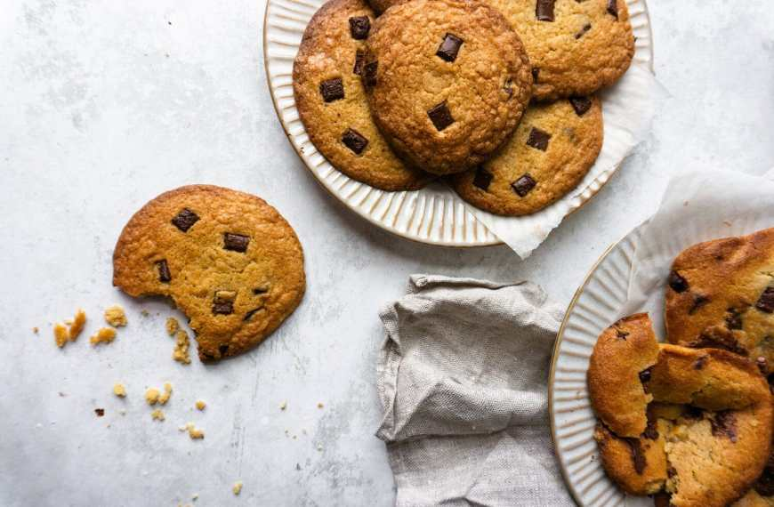 Chewy Soft Chocolate Chip Cookies Recipe