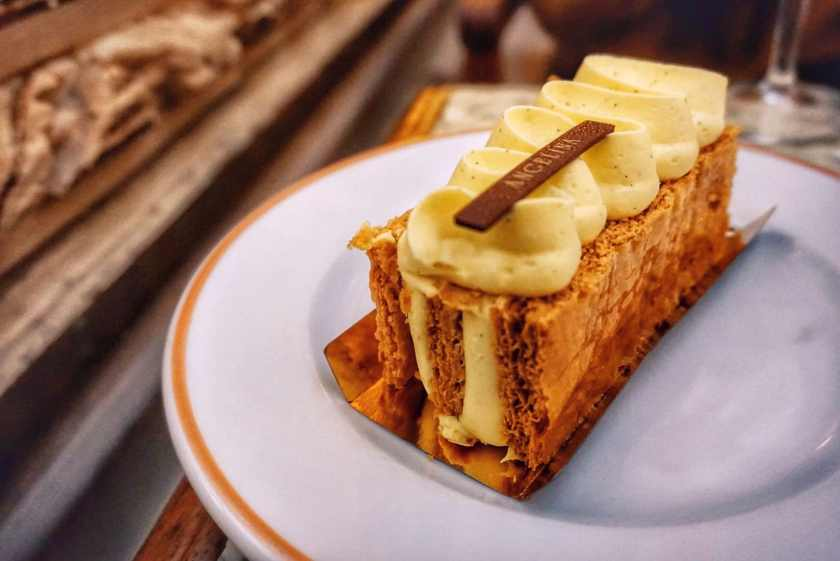 Slice of Millie Feuille at Angelina Paris