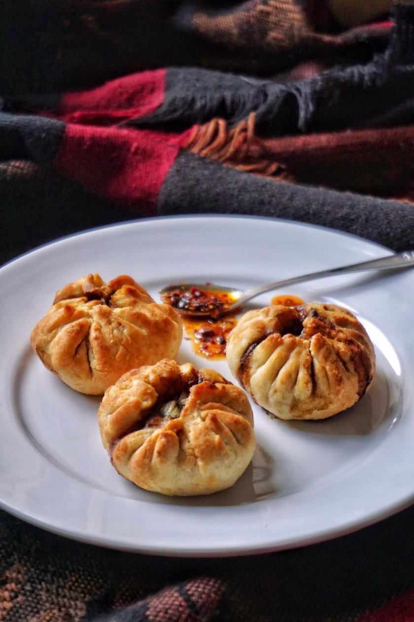 Air Fryer Chinese Vegetables Buns