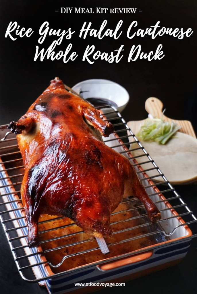 Rice Guys Whole Roast Duck DIY Meal Kit Review