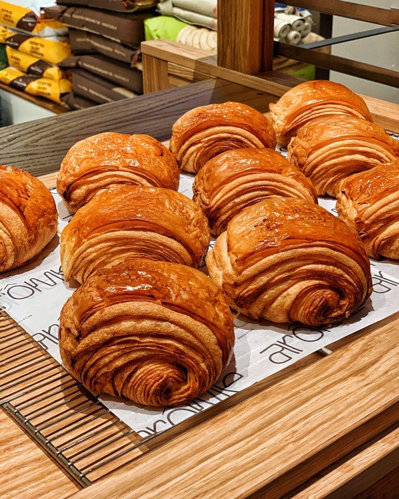 Pain Au Chocolat Pastries at Arome Bakery